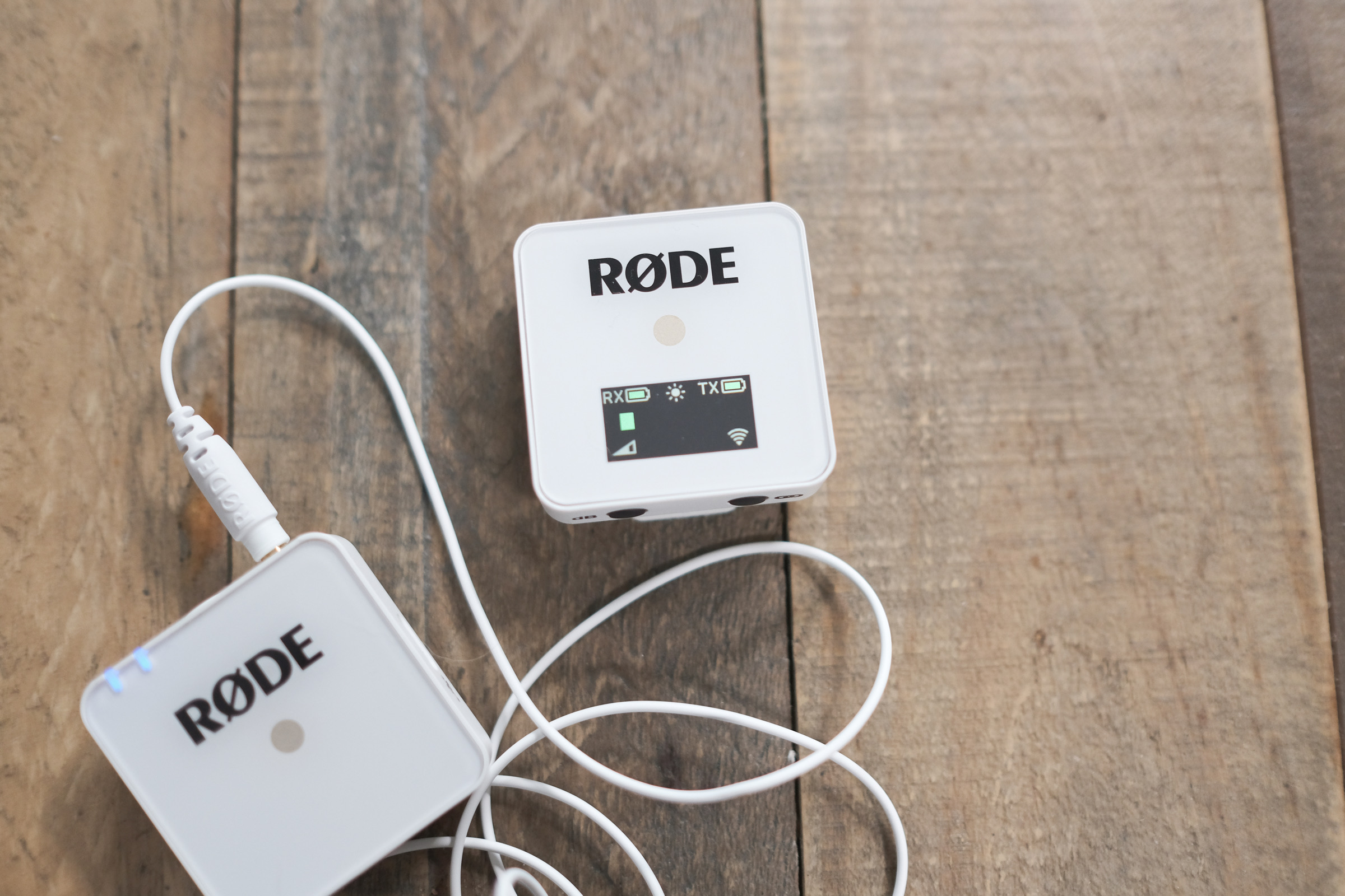 Rode's new white Wireless GO and accessories extend the flexibility of the most versatile creator mic 3