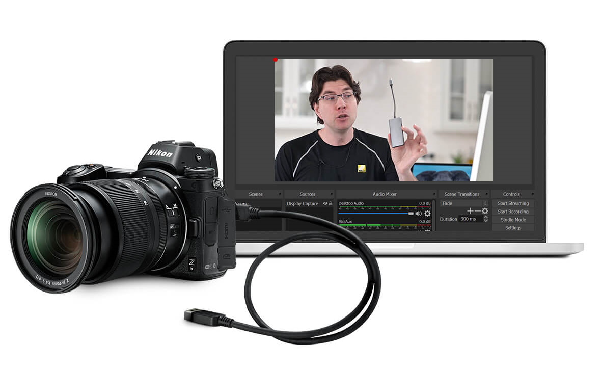How to set up your nice camera as a high-quality webcam in 5 minutes 5