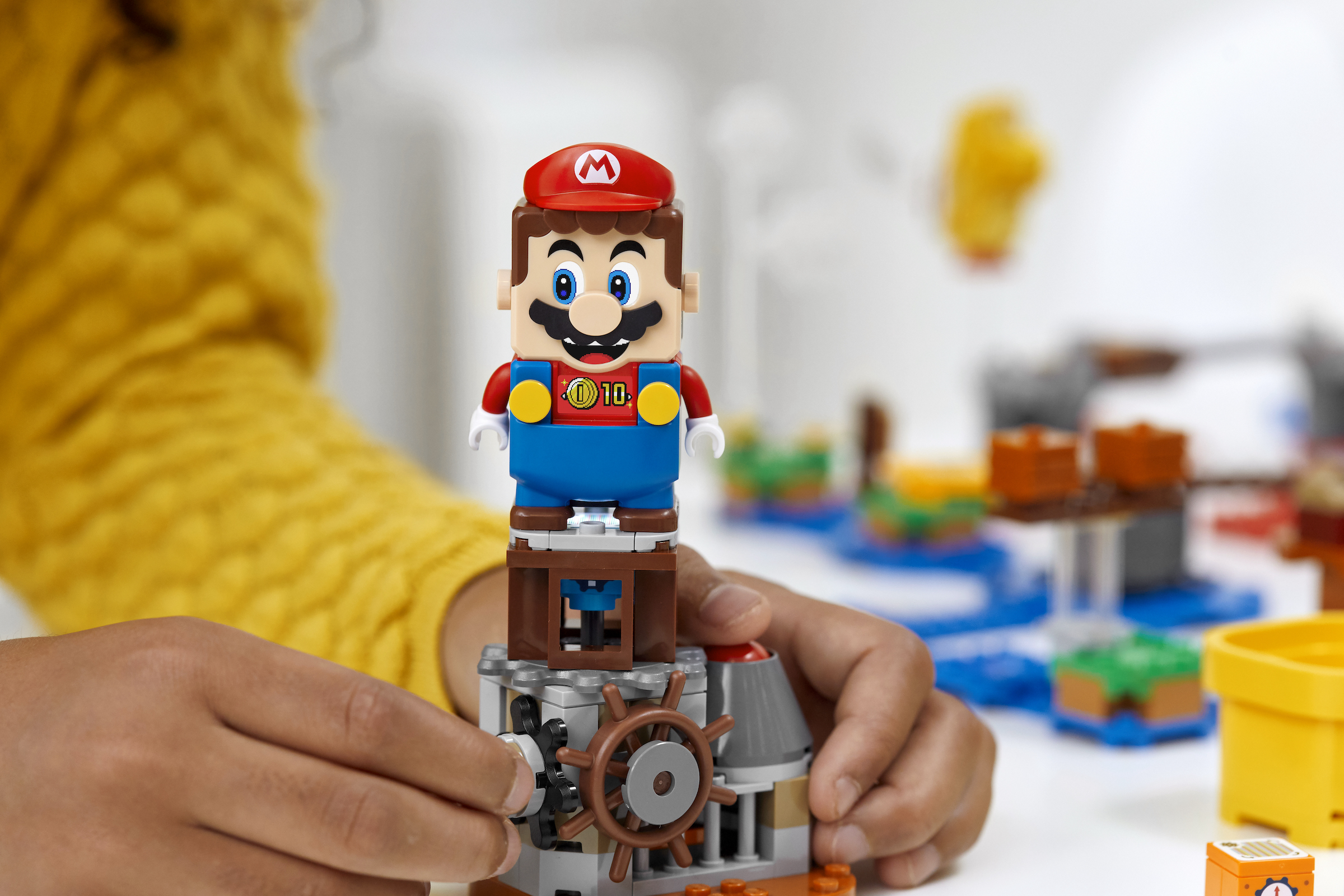 Lego expands its Super Mario world with customization tools, new Mario power-ups, and more characters 2