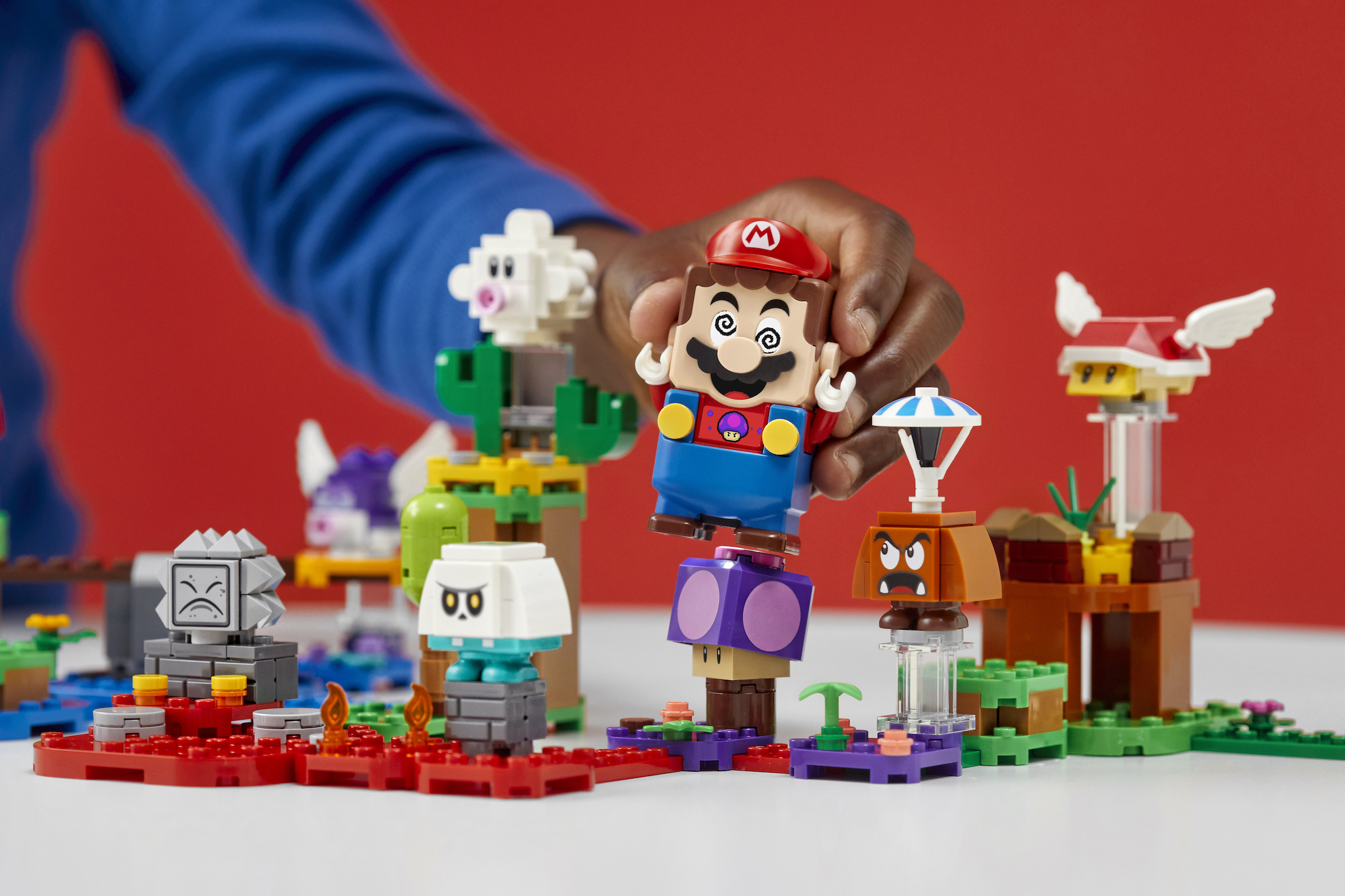 Lego expands its Super Mario world with customization tools, new Mario power-ups, and more characters 3